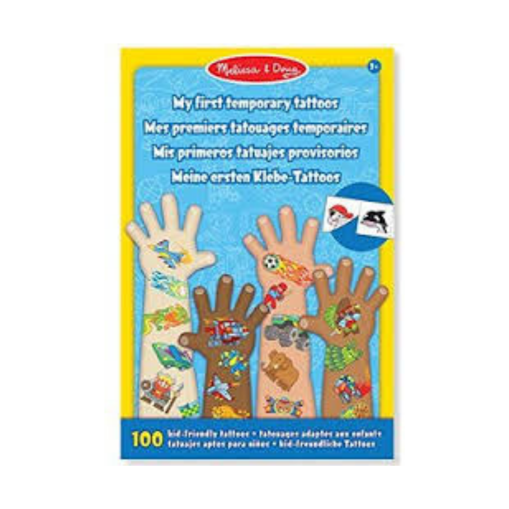 Melissa and Doug My First Temporary Tattoos – Adventure, Creatures, Sports, and More