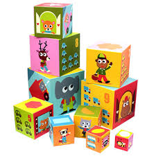 Djeco Toys Stacking Blocks – Vehicles
