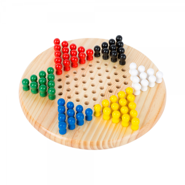 Wooden Chinese Checkers Board Game from Small Foot Design Toys