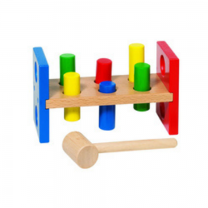 Wooden Hammer Bench for Toddlers from Goki Toys