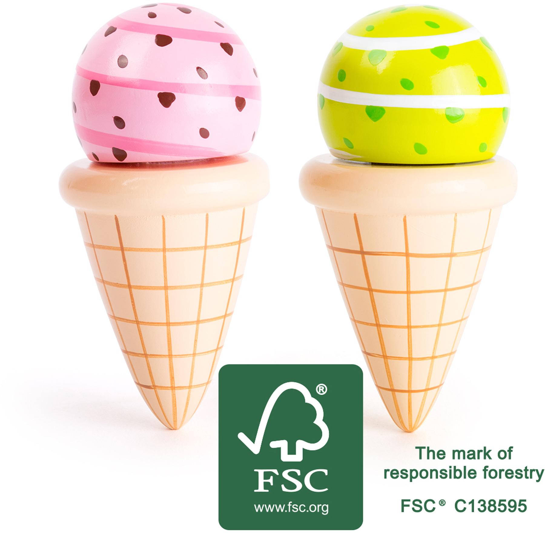 Play Food : Wooden Ice creams