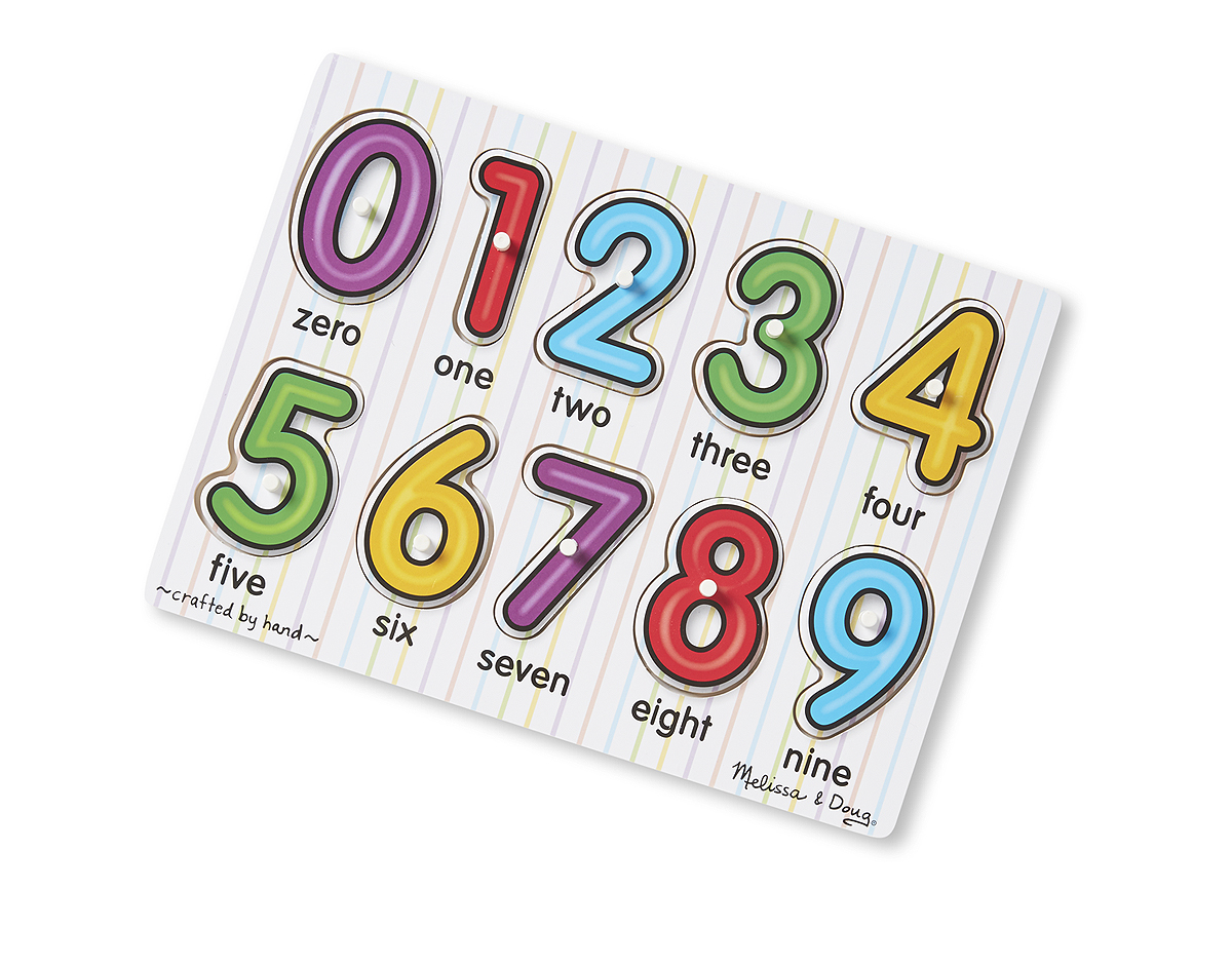 Melissa and Doug Puzzles – Matching Numbers