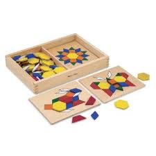 Pattern Blocks and Boards Melissa and Doug