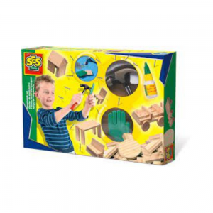 Woodwork Set for Children from SES Creative Carbon Neutral Toy