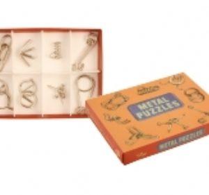 retro metal puzzles