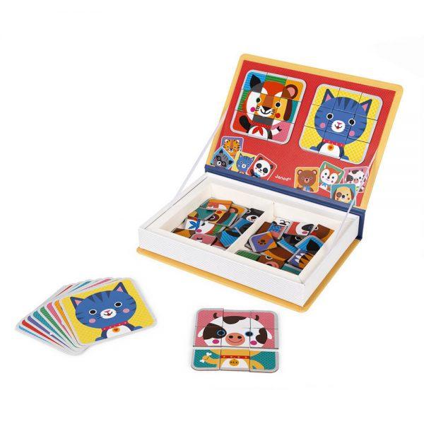 Janod - Mix and Match Magneti'Book Animals