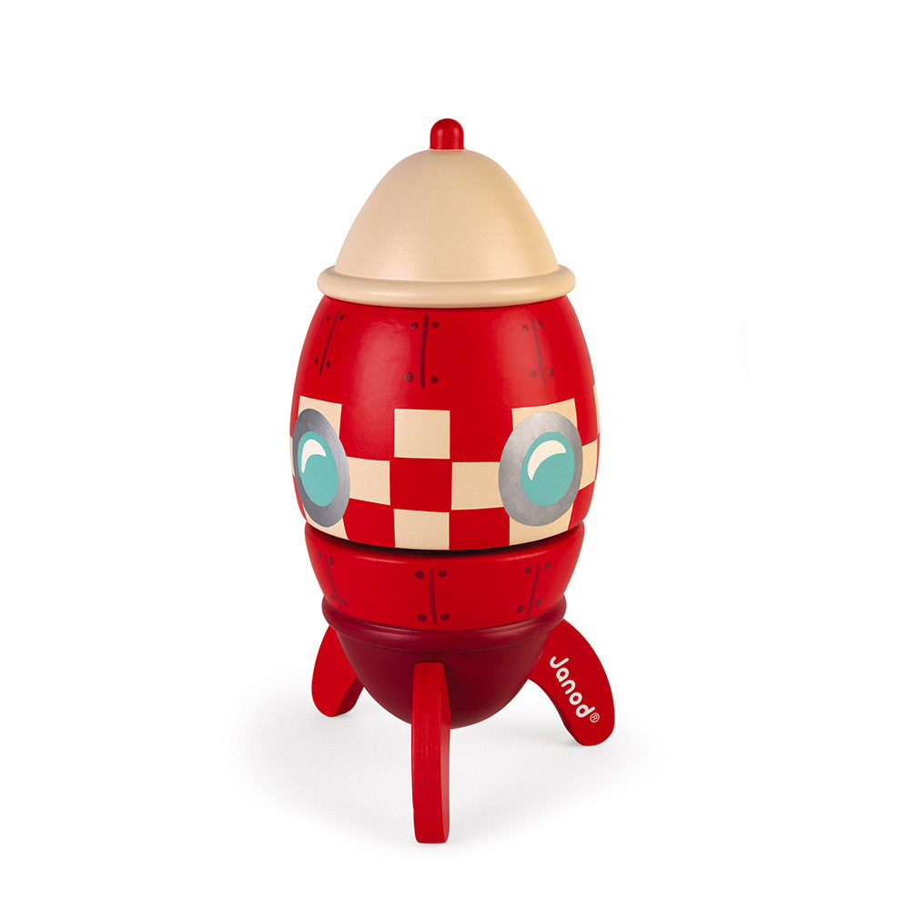 Janod – Musical Wooden Rocket