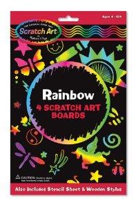 Melissa and Doug Rainbow Scratch Art
