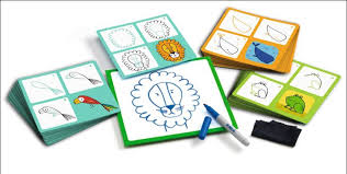 Djeco Step by Step Drawing Animals