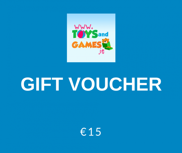 €15 gift token for Toys and Games Ireland