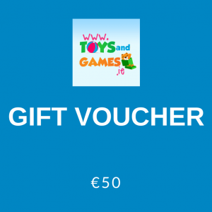 €50 gift voucher for Toys and Games Ireland