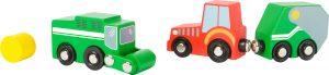Wooden Farm Vehicle Set