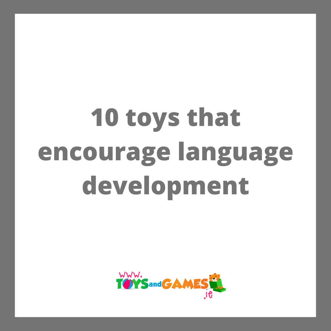 10 Toys that Encourage Language Development