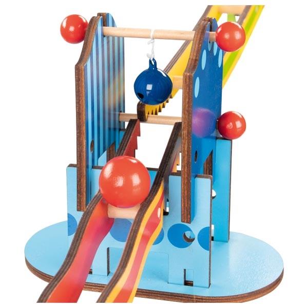 Knight's Castle Ball Track Marble Run Goki Toys