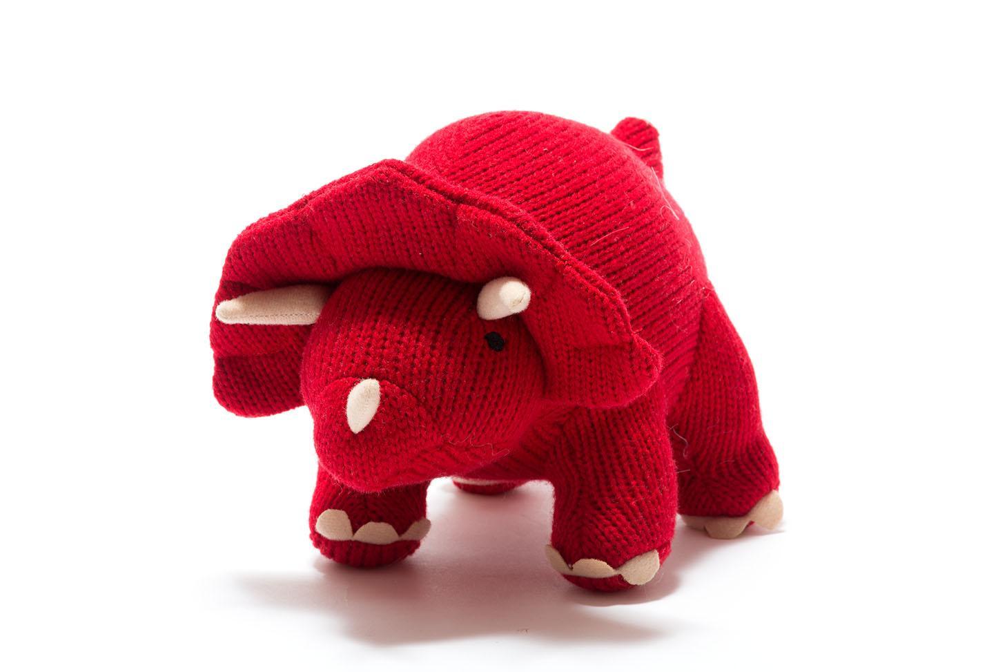 Triceratops – Soft Toy Dinosaur