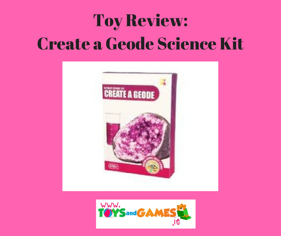 Toy Review : Create a Geode