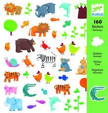 Djeco-160-Animal-Stickers