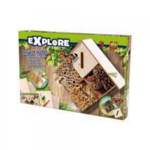 Make your own Insect Hotel from SES Creative. Carbon neutral toy