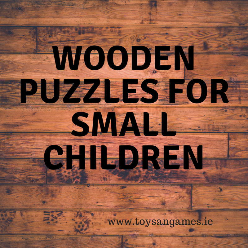 Wooden Puzzles for Young Children