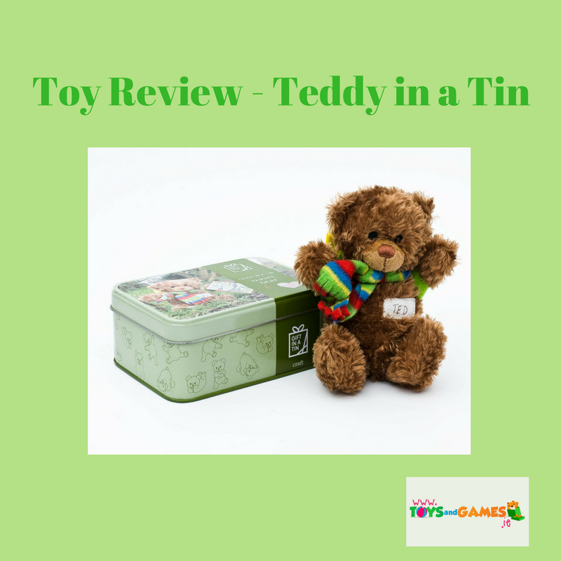 Toy Review – Teddy in a Tin