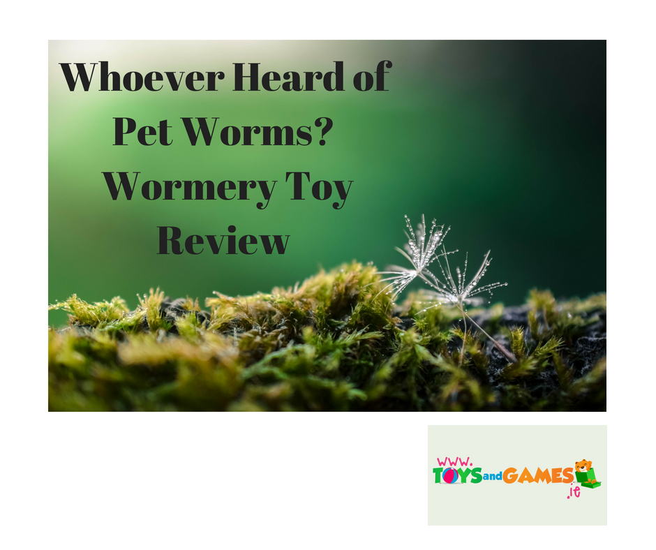 Whoever Heard of Pet Worms? Wormery Toy Review