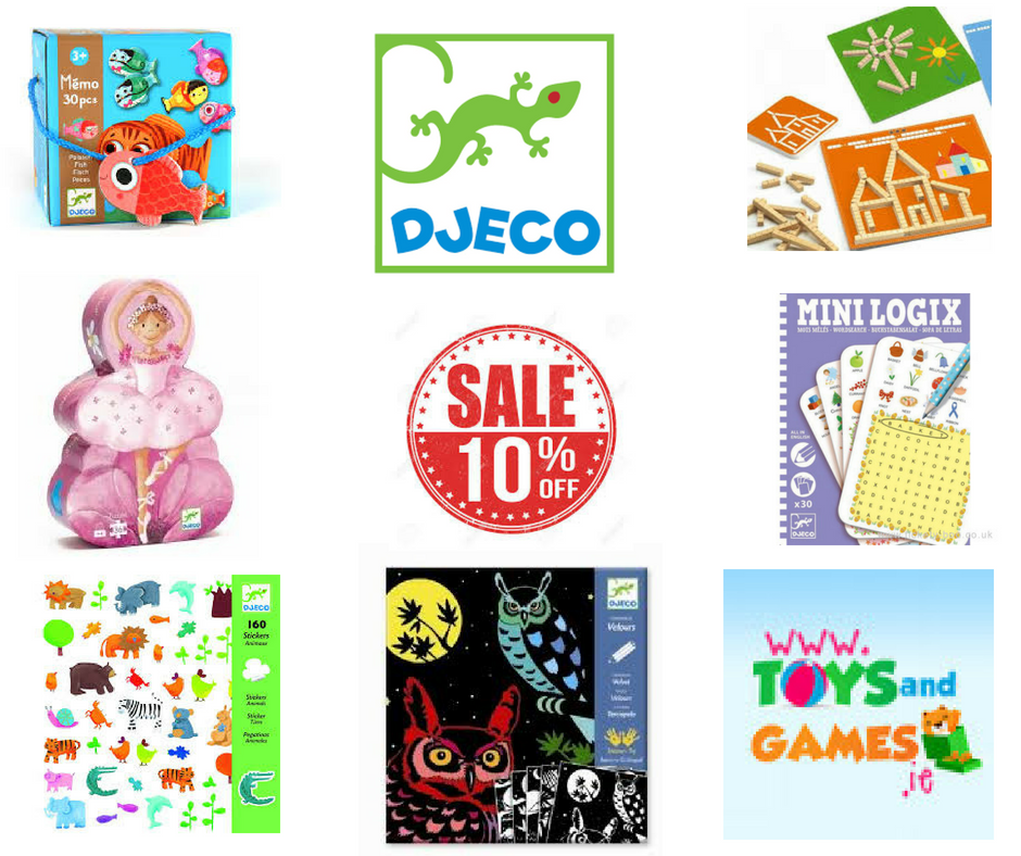 10% Off Djeco Toys This Week