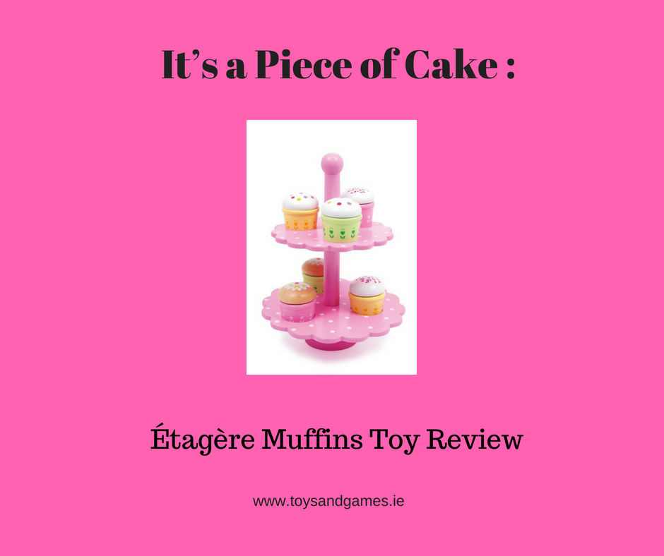 It's a Piece of Cake : Étagère Muffins Toy Review