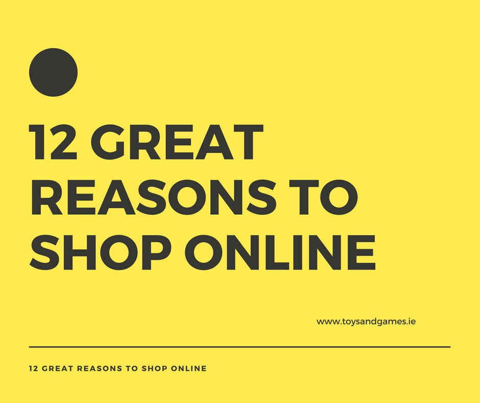 12 Great Reasons to Shop Online