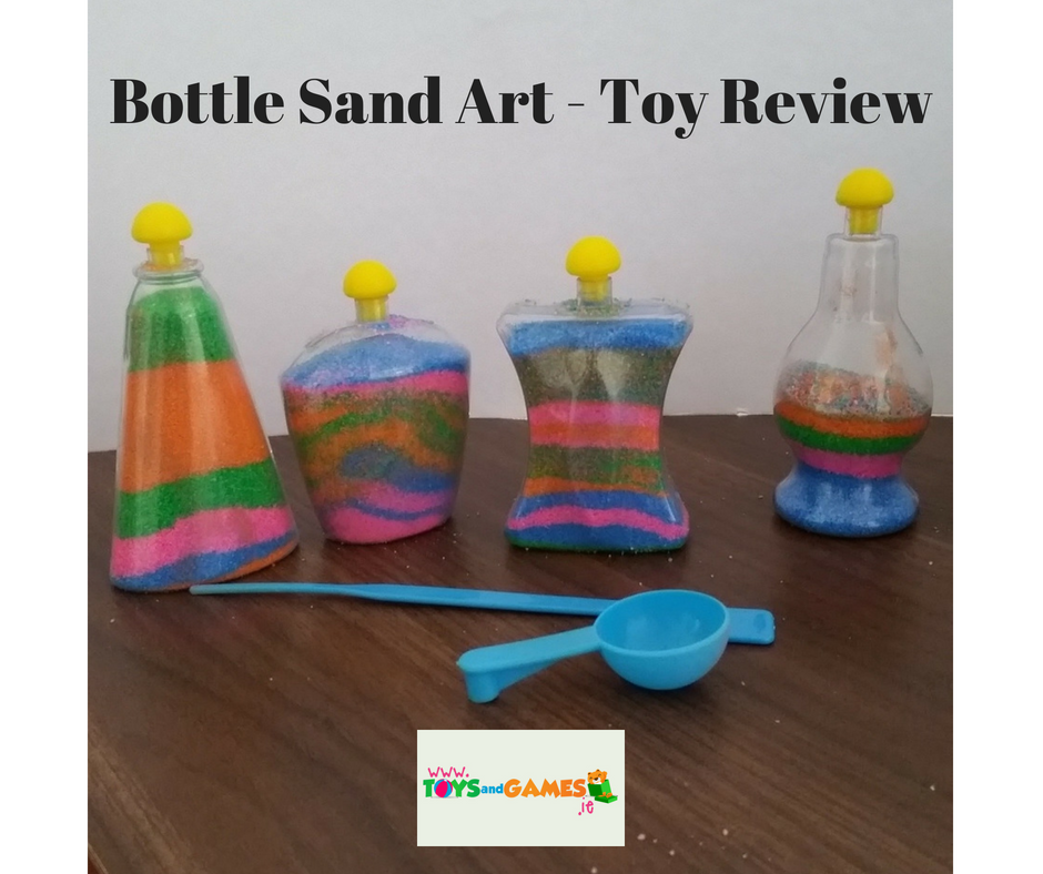 Bottle Sand Art – Toy Review