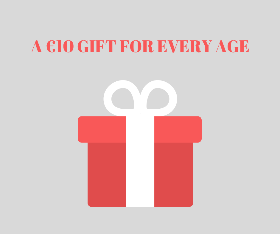 A €10 Gift For Every Age