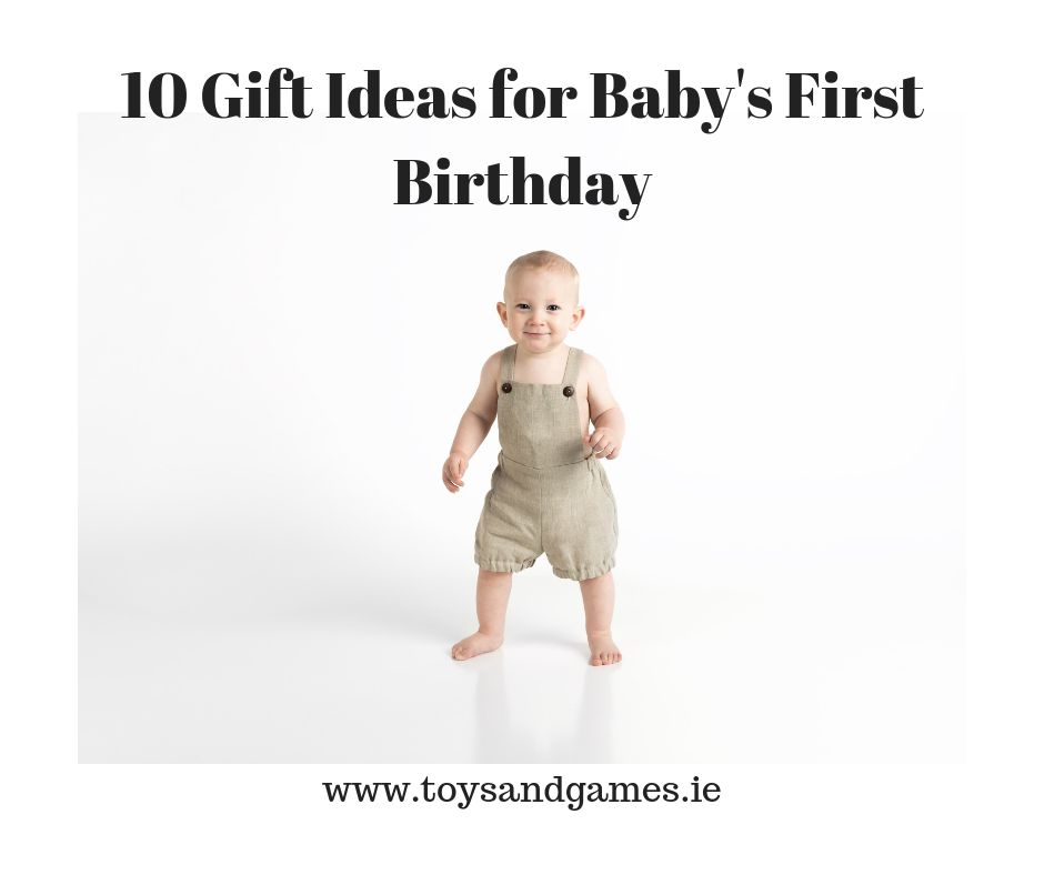 10 Gift Ideas for Baby's First Birthday