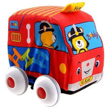 K-Kids Pull Back Fire Engine