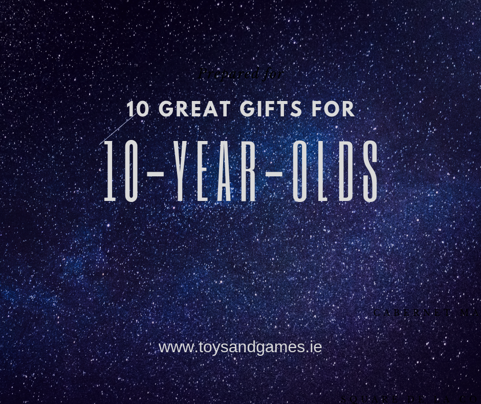 10 Great Gifts for 10-Year-Olds