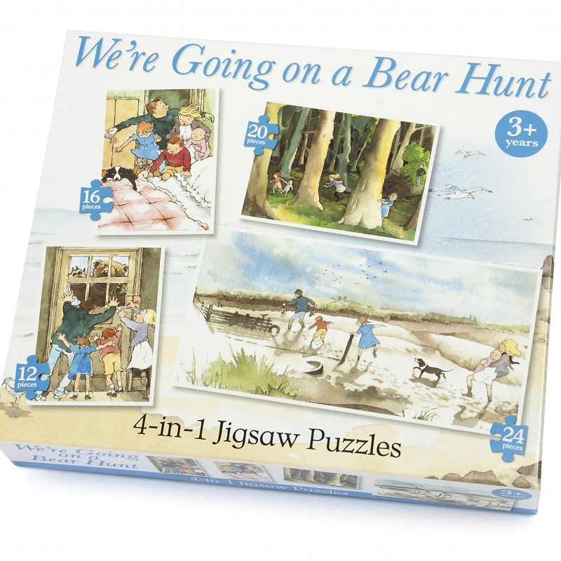 Bearhunt – 4 Puzzles in a Box