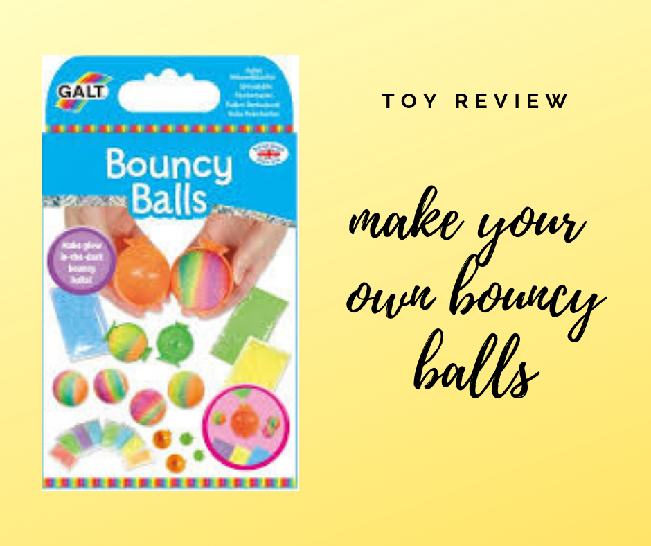 Toy Review : Make your own Glow in the Dark Bouncy Balls