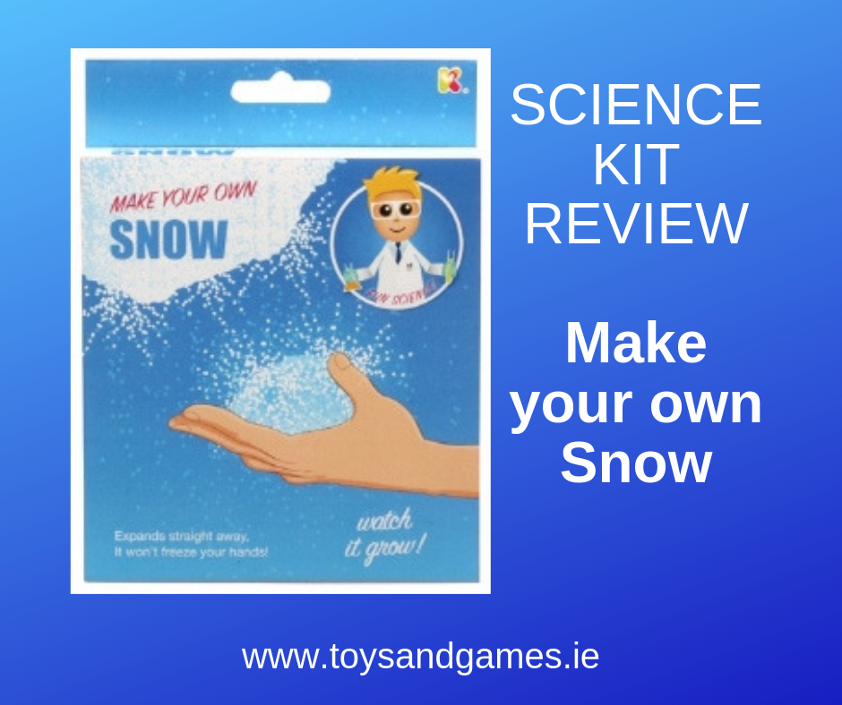 Science Kit Review : Make your Own Snow