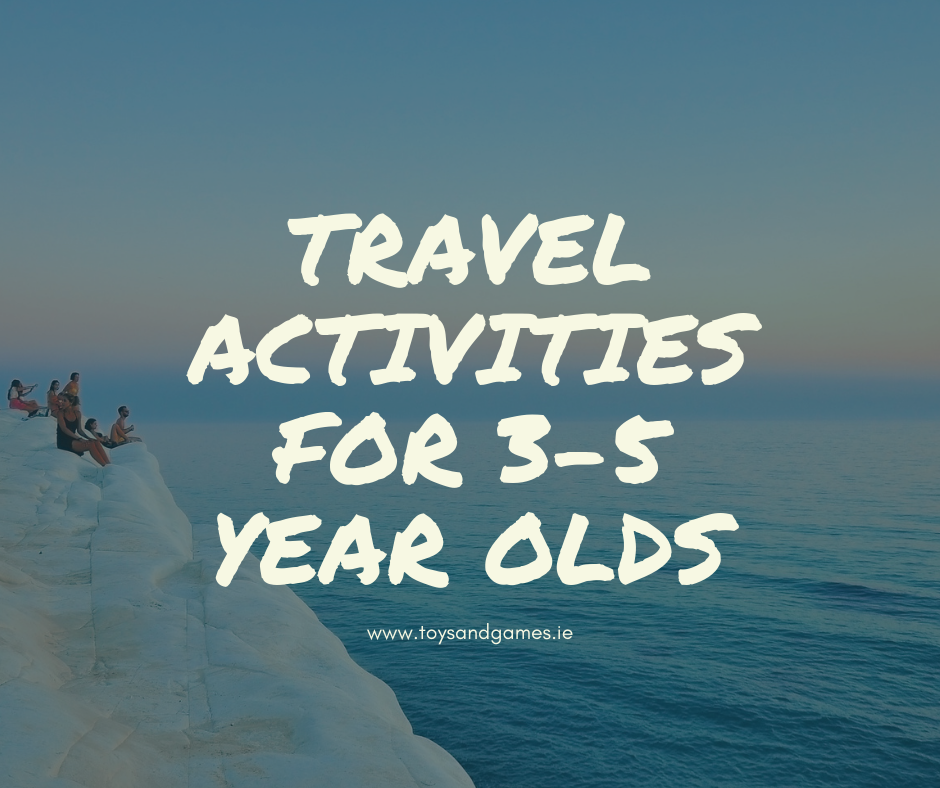10 Travel Activities for Children Aged 3-5 Years