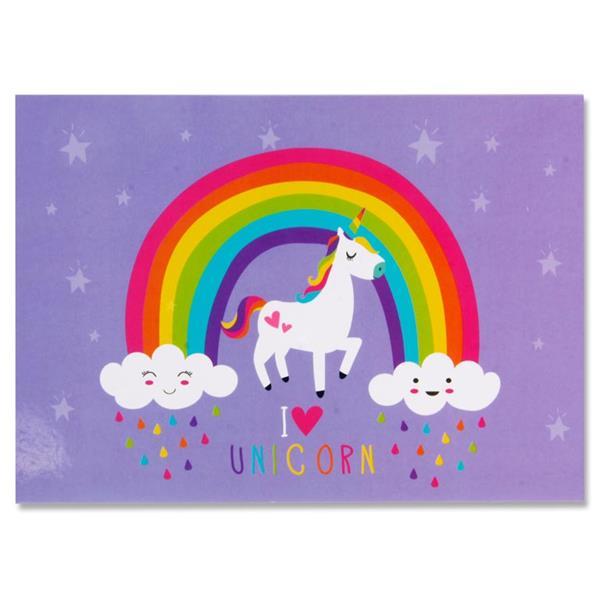 I love Unicorns – Book of Sticky Notes