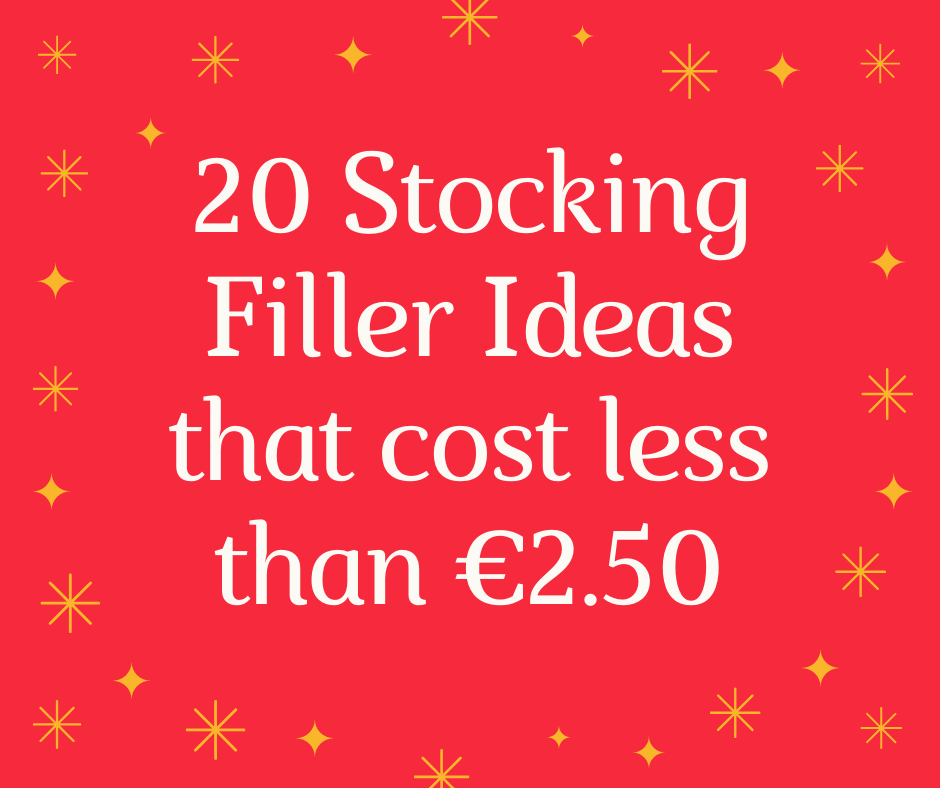 20 Stocking Filler Ideas that cost less than €2.50