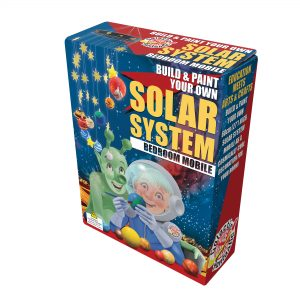 Build and Paint your own Solor System Bedroom Mobile