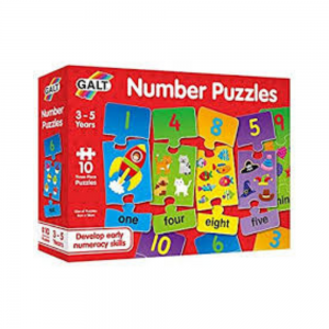Galt Number Puzzles for 3 year olds