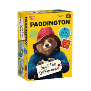 Paddington Bear Spot the Difference Challenges