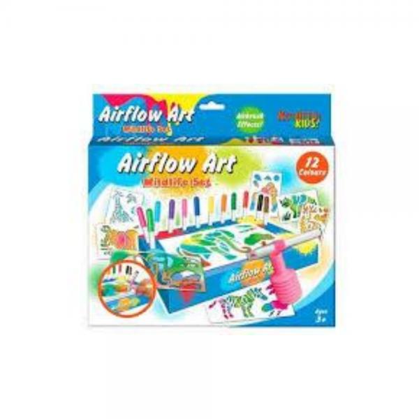 Airflow Art Blow Painting Set