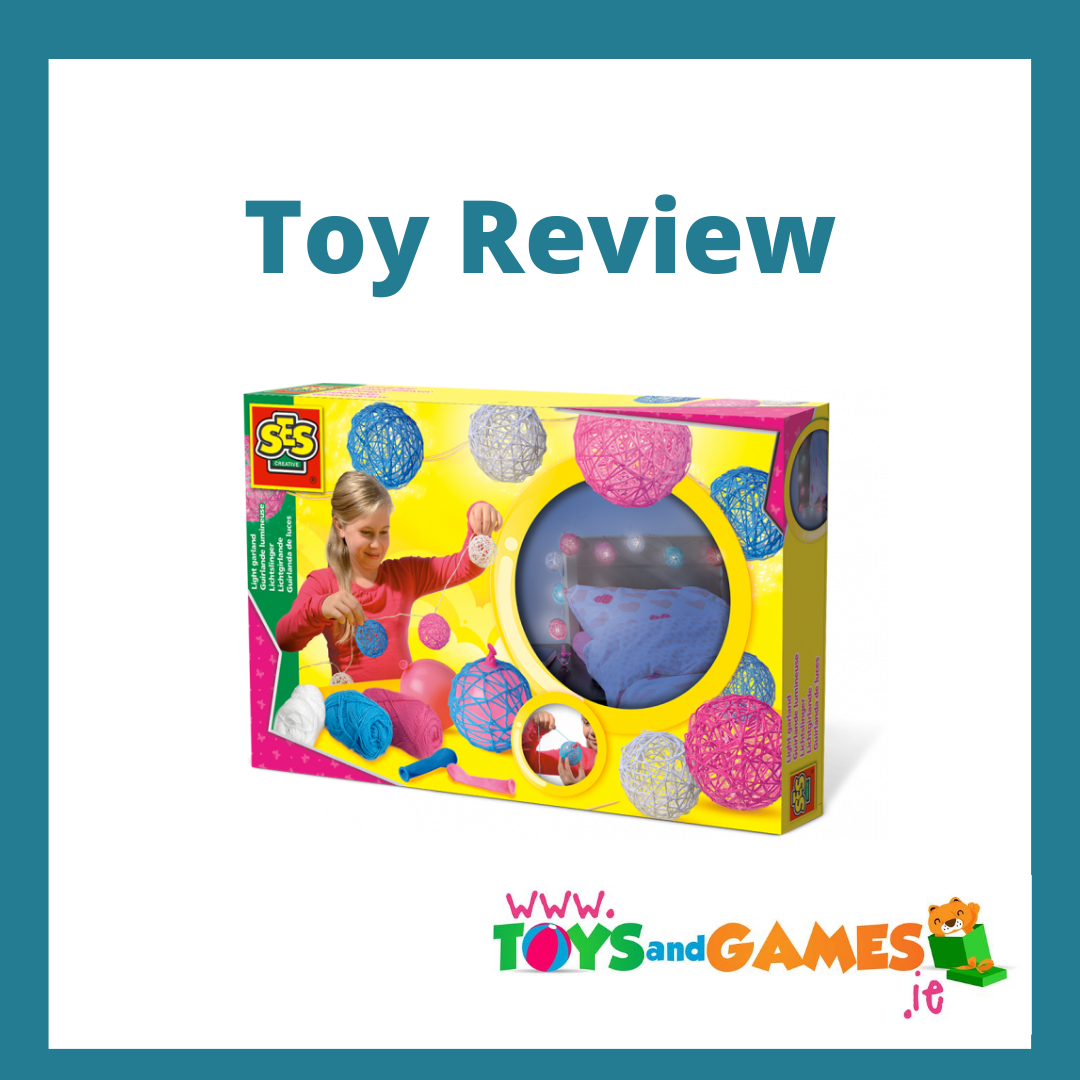 Toy Review : Make your own Light Garland