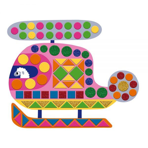 Janod Vehicle Mosaic Craft