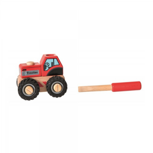 Build your own wooden tractor