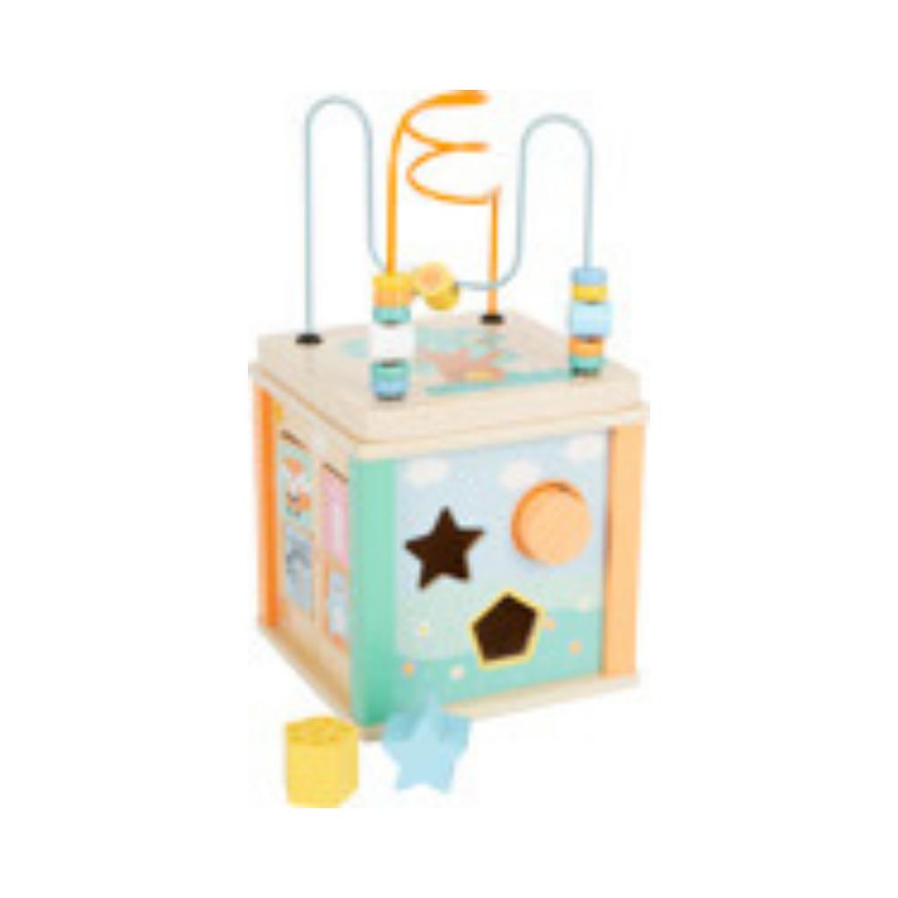 Pastel Activity Cube
