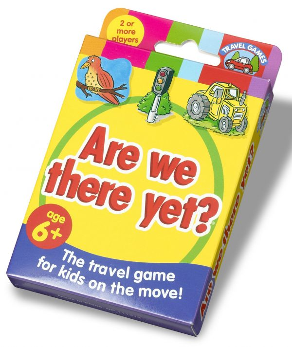 Are we there yet travel game for car journeys