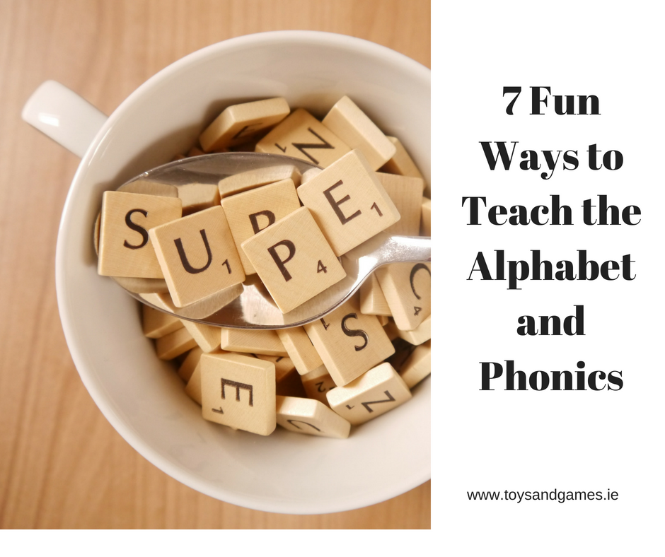 7 Fun Ways To Teach The Alphabet and Phonics