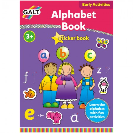 Alphabet Sticker Book for 3 and 4 year olds from Galt